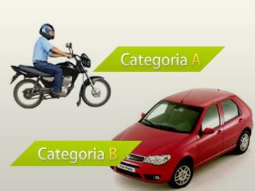 Adição de categoria condutor Habilitação
